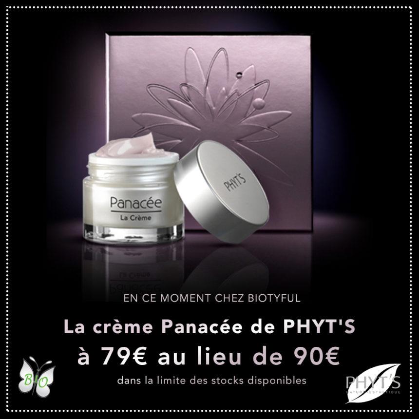 Offre sur La Crème Panacée de Phyt's