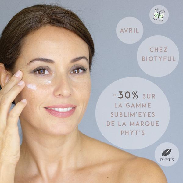 Avril : -30% sur la gamme Sublim'eyes de PHYT'S
