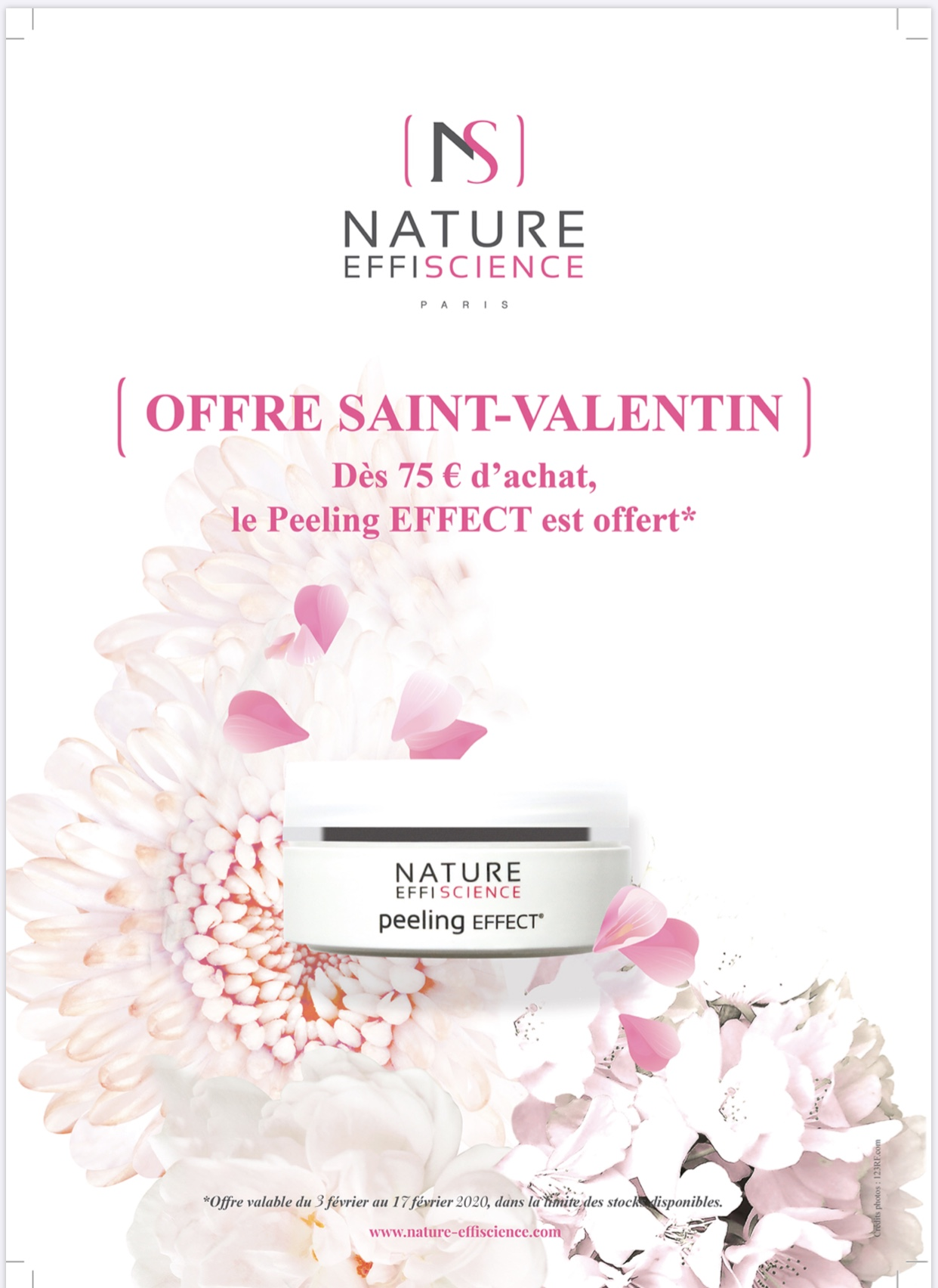 Offre saint-valentin Nature Effiscience